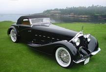 Automóveis clássicos - raros