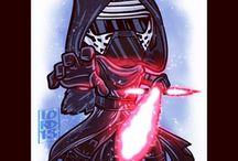 Star Wars / Cartoons from lordmesa