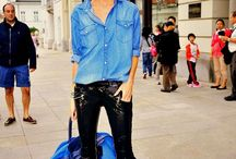 How to wear a jean shirt / #jean #shirt