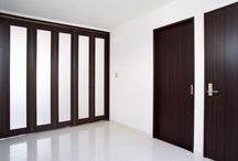 間仕切開閉壁 / パナソニック耐震住宅工法テクノストラクチャーで建設されたアパート