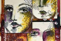 Dina wakley - art