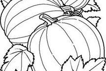 tekeningen herfst