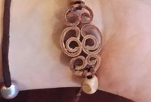 bracelet made of cinnamon sticks