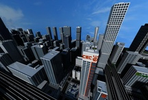 Minecraft Buildings / Perspective