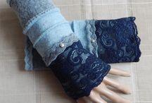Puños,  guantes y mitones