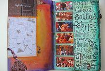 Travel art & journals