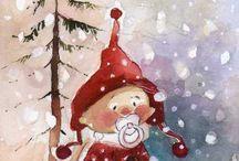 New year- Сrochet ideas. К Новому году-всегда готов! / Картинки и идеи украшения дома к Новому году
