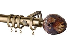 Metal Curtain Poles / Various styles of metal curtain poles from Speedy products Ltd