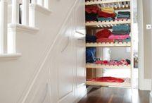 Closets, Storage, Organizing