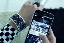 Tago arc / E ink bracelet with endless design http://goo.gl/rqDRC9