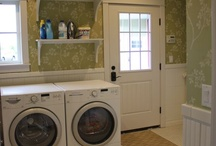"Laundry Room Inspiration / Ideas for my ""someday"" laundry room!"
