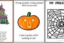 October speech therapy ideas / by Lisa Varo, SLP