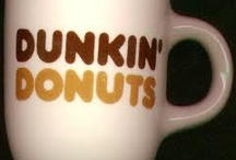 """Kerry Likes Dunkin Donuts! <3 / """"I like to LOOK at these pretty lil gems, I'd LOVE to eat (drink) them ALL! : / """" / by Kerry Heming Brown Designs"""