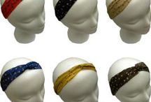 Turbands for Hair / A turband is a headwrap that has a turban knot at the top. It is great for those looking to add height to their face to look slimmer, due to hair loss or simply because it's stylish!