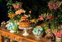 mesa bolo noivado inspirações