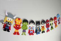Festa a tema: Lego Super Heroes