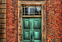 Architecture-Doors/Windows / beautiful, antique, old, weathered, funky &/or new doors & windows / by VickiandJoey Froelich