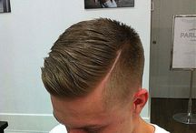 Male Cuts / From traditional to modern, and everything in between, men tend to their beauty needs as well!