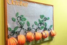 October in Kindergarten