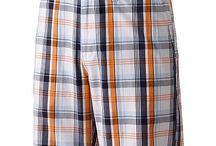 Croft and Barrow Plaid Flat-Front Shorts - Men