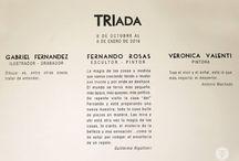 TRÍada / Los artistas Fernando Rosas, Gabriel Fernández y Verónica Valenti exponen sus últimas creaciones en nuestro Espacio de Arte Trivento. La muestra se podrá disfrutar desde le 8 de octubre de 2015 al 8 de enero de 2016.