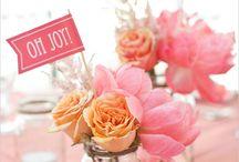 Bordpynt/ blomster