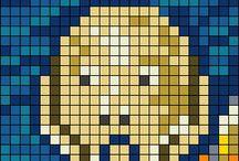 Hama beads / Creaciones, ideas, proyectos...