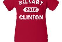 Hillary Clinton t shirts