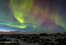 Mountain Auroras