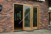 Brown Bi-folding Door Systems