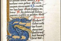 Manuscripts | Medieval | Ornaments | Lettering
