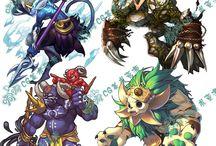 diseños de personaje