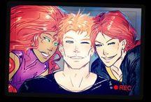 Grayson's Redheads / Birdflash, Robstar
