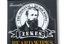 Zekes Beard Wipes / Keep up to date with product releases, discounts and offers on our beard care products.  www.zekesbeardwipes.com