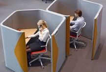 Acoustic Pods / Our free standing acoustic pods provide a quiet space in open plan office areas. Great from private meetings and quiet work areas. Easily moved and reconfigured.