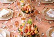 Easter & Spring / You will find here a variety of the best, most beautiful, creative and elegant Easter and Spring tablescapes and entertaining ideas.