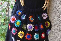 Crochet bags / by Mary Stephens