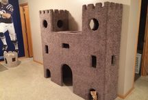 Pet furniture and fun / Cat furniture Play room DIY cat toys