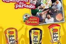 Inspiration Justin Champion du Partage Justin Bridou - Very Good Moment / Rassemblez vos proches et partagez un moment de convivialité avec Justin Bridou !