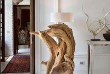 wood lampade
