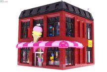 LEGO ice cream shop