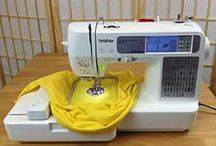 Brother SE400 {Sewing/Monogram/Applique/Embroidery} / All about my new Brother SE400 Sewing and Embroidery Machine!