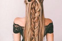 real hair art