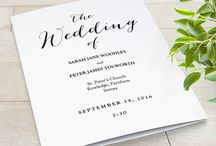Wedding programs DIY printable wedding order of service / Wedding programs, Order of Service Printable DIY wedding