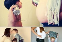 Pregnancy shoot ideas! / We've collected some beautiful pregnancy shoot photos that can help you plan your perfect pregnancy and new baby shoot!