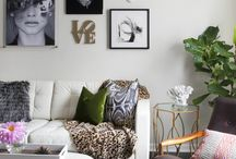 black white new home inspiration