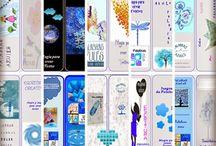 Marcapáginas Palabras Azules / 500.000 visitas
