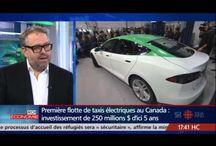services, transport, communautés, économique, écologique / Le taxi ecolo de Montréal, c'est Téo !!