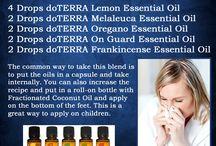 Essential oils & natural remedies