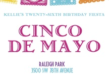 Cinco de Mayo Celebration / Because my friends want to help me plan a Cinco de Mayo Birthday Celebration, right? :) Show me cute things!! / by Kellie Rosenberger